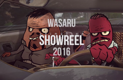 Wasaru Animation Showreel 2016